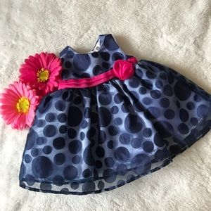 Elegant polka dot dress